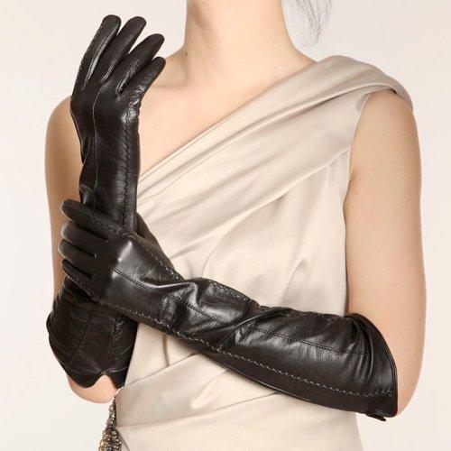 длинные перчатки до локтя