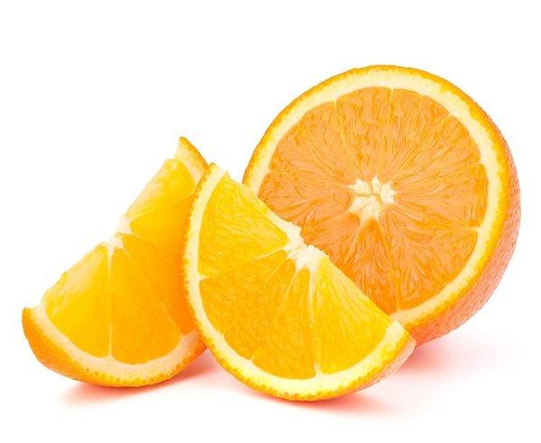 Порезанный апельсин