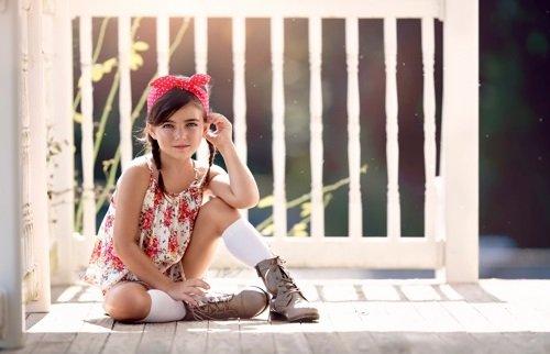 Молодая девочка