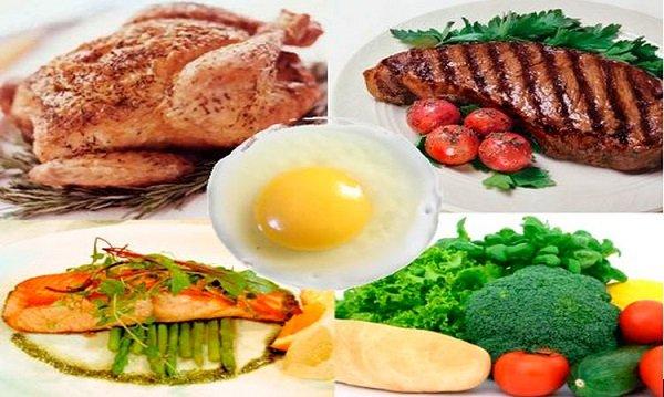 Блюда белковой диеты