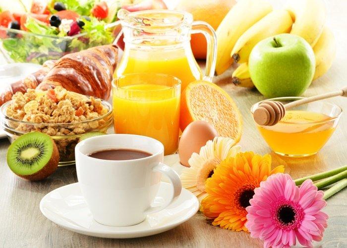 Основные продукты завтрака