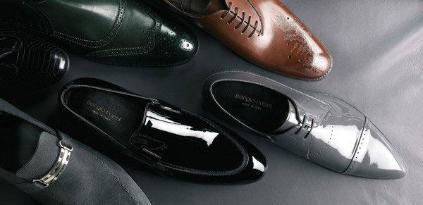 Мужские лакированные обуви