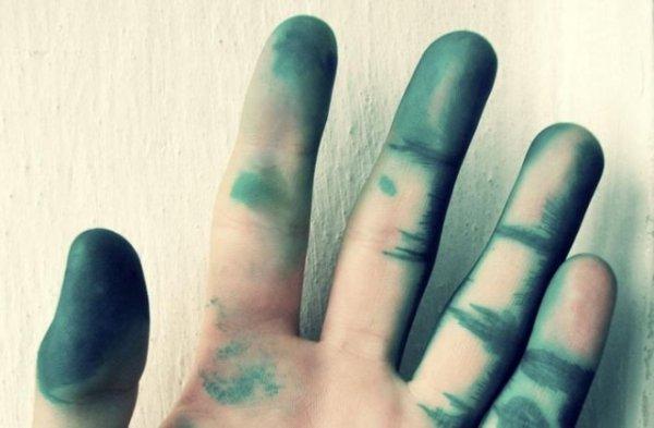 Зелёные руки