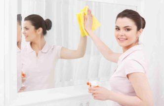 Чем отмыть зеркало и избавиться от разводов?