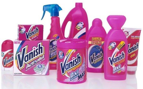 Vanish для удаления пятен