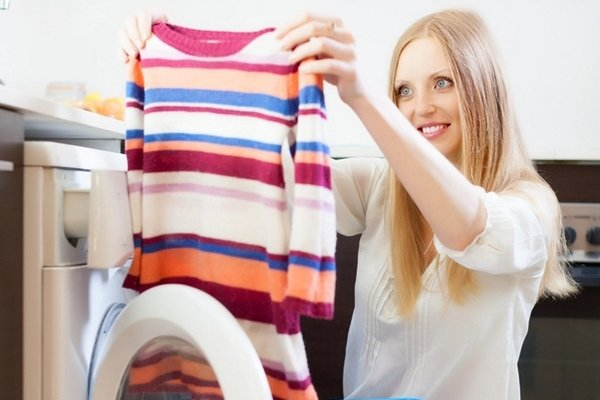 Одежда после стирки