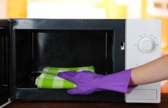 Как правильно чистить микроволновую печь в домашних условиях?