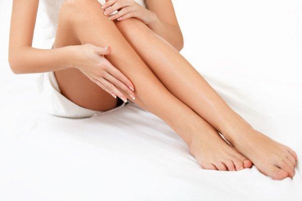 Удаление волос ног