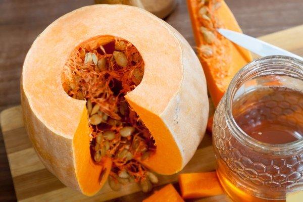 Тыквенные семечки с медом для детей