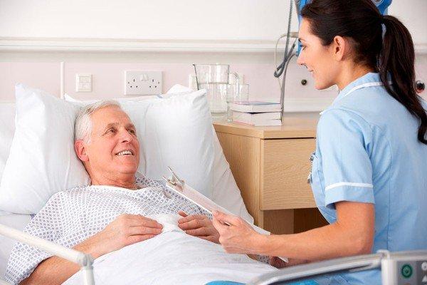 Пациент после процедуры