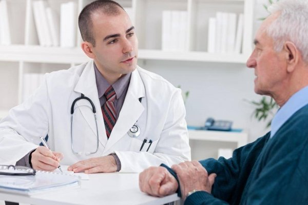 Рак простаты у пациента