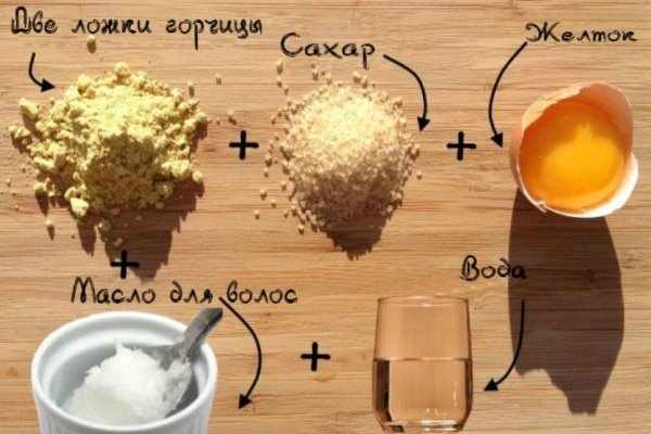 Маска с яйцом и сахаром