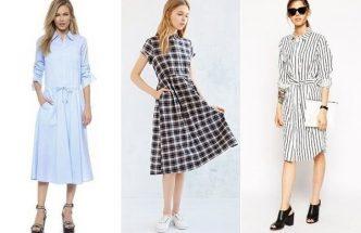 Выбор платья миди
